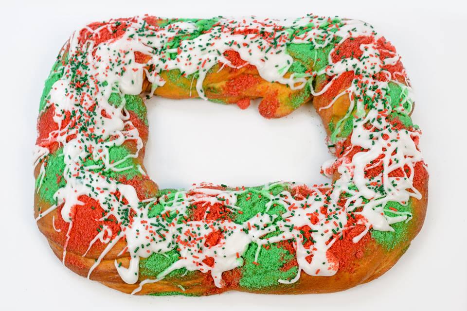Haydel's Christmas King Cake