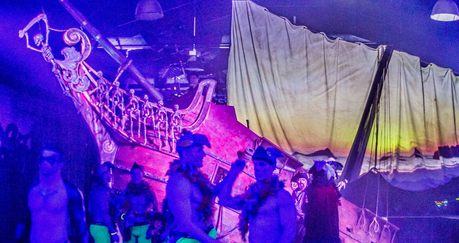 Halloween New Orleans Pirate Ship LGBT Fall