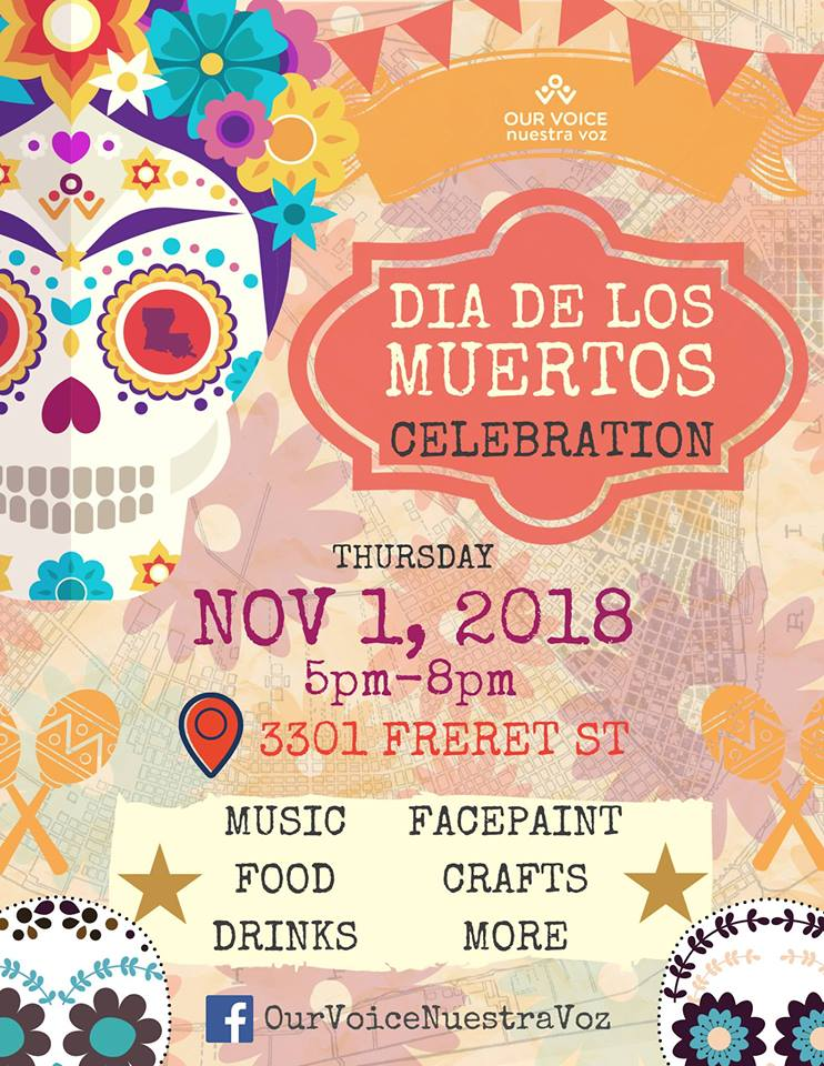 Nuestra Voz celebrates Day of the Dead on November 1