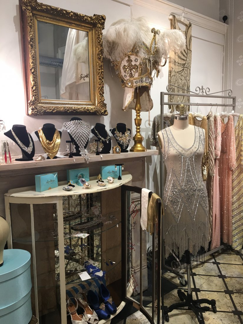 The vintage, high fashion finds at Century Girl. - Antique Shops On Magazine Street In New Orleans