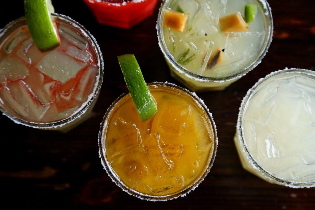 Margaritas from Araña (photo credit: Randy Schmidt Photography)