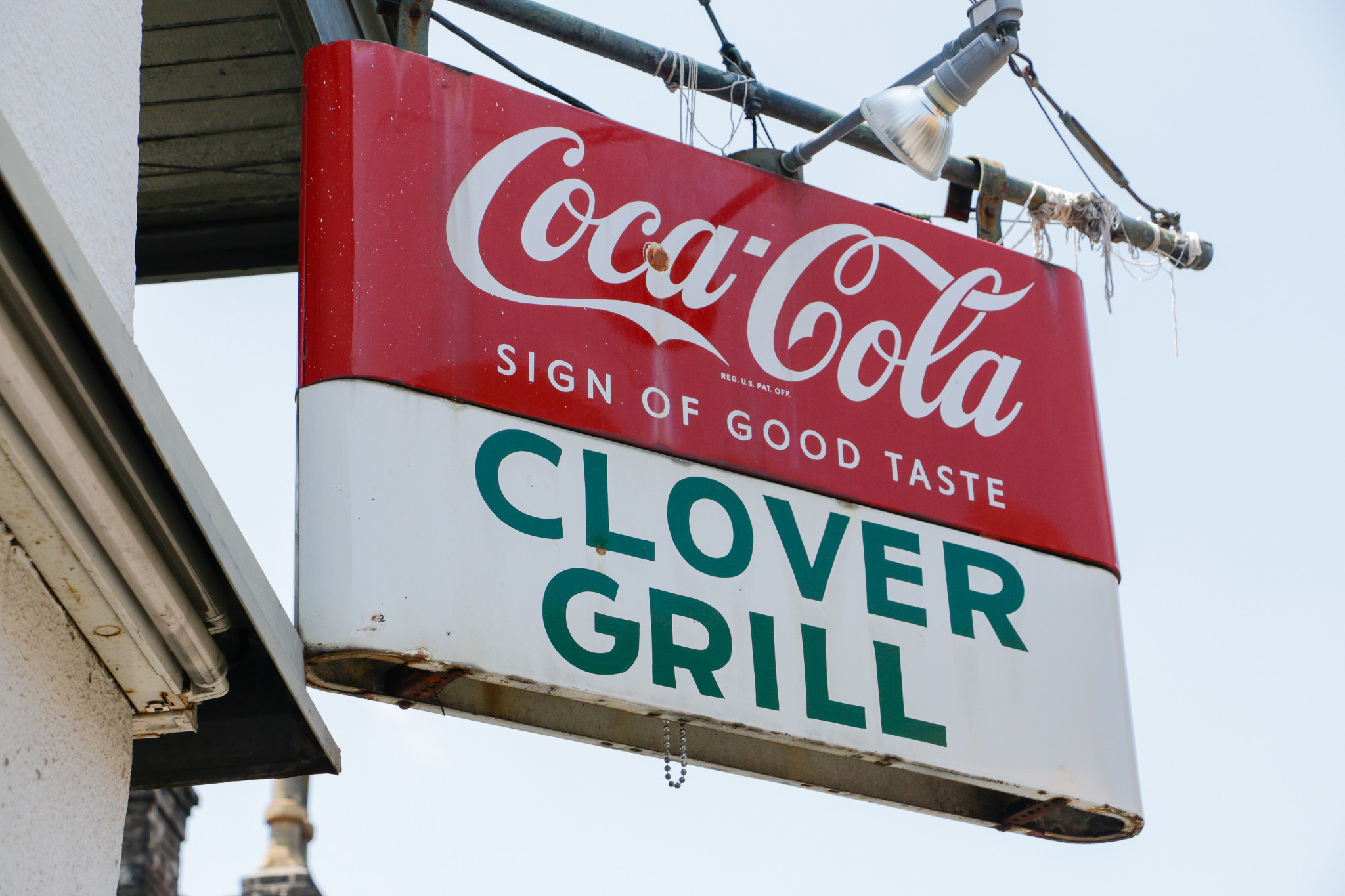 Clover Grill sign - LGBT jackson square