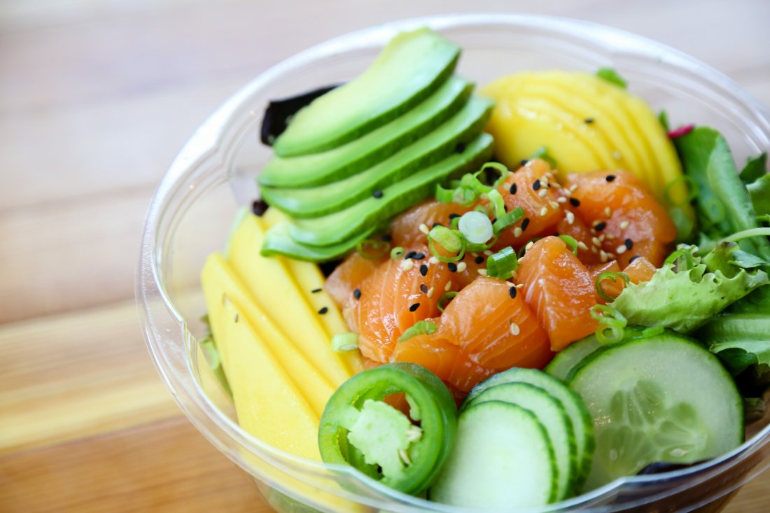 Kais Salmon Bowl (photo credit: Randy P. Schmidt)