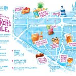Makers Mile map (courtesy of Big Easy Bucha)