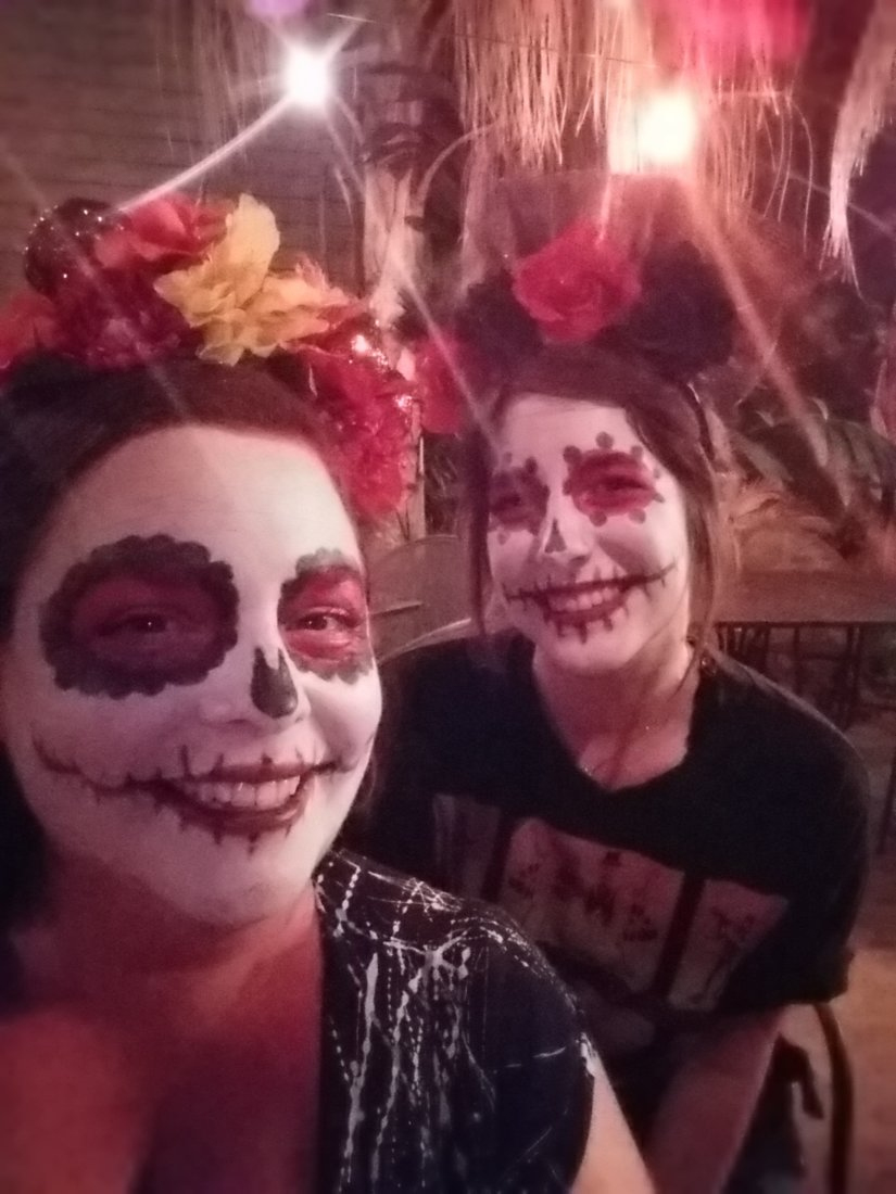 Day of the Dead at Del Fuego (photo credit: D. Wright)