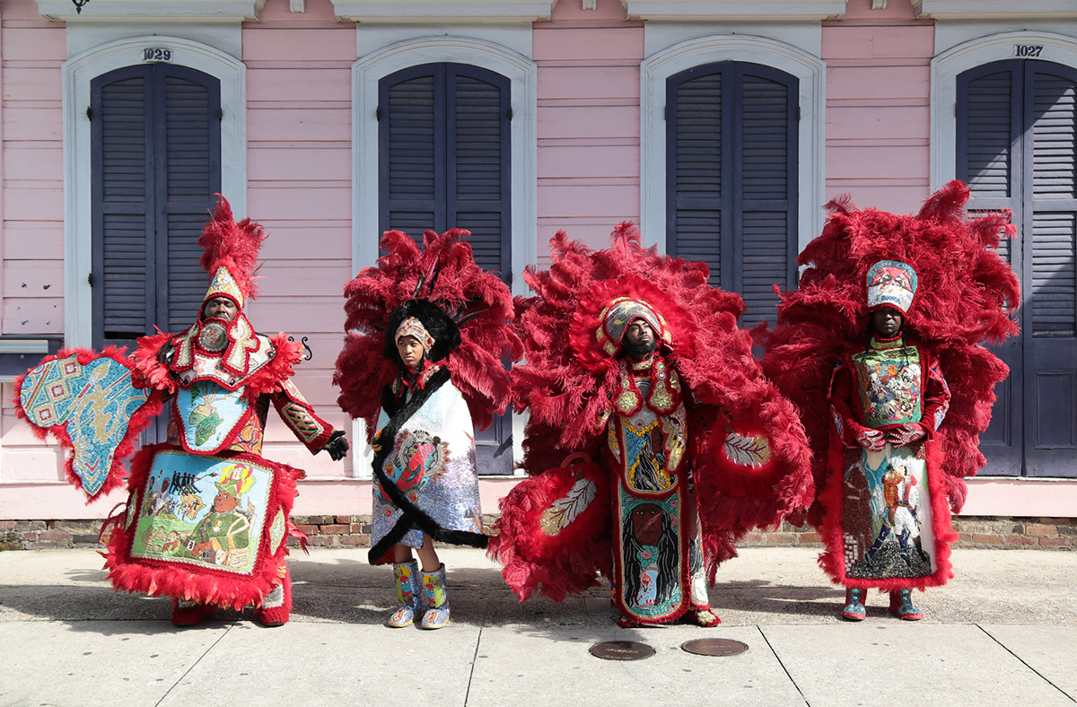 In The Long And Storied History Of Mardi Gras Indians, The Golden Eagles  Are Larger Than Life.