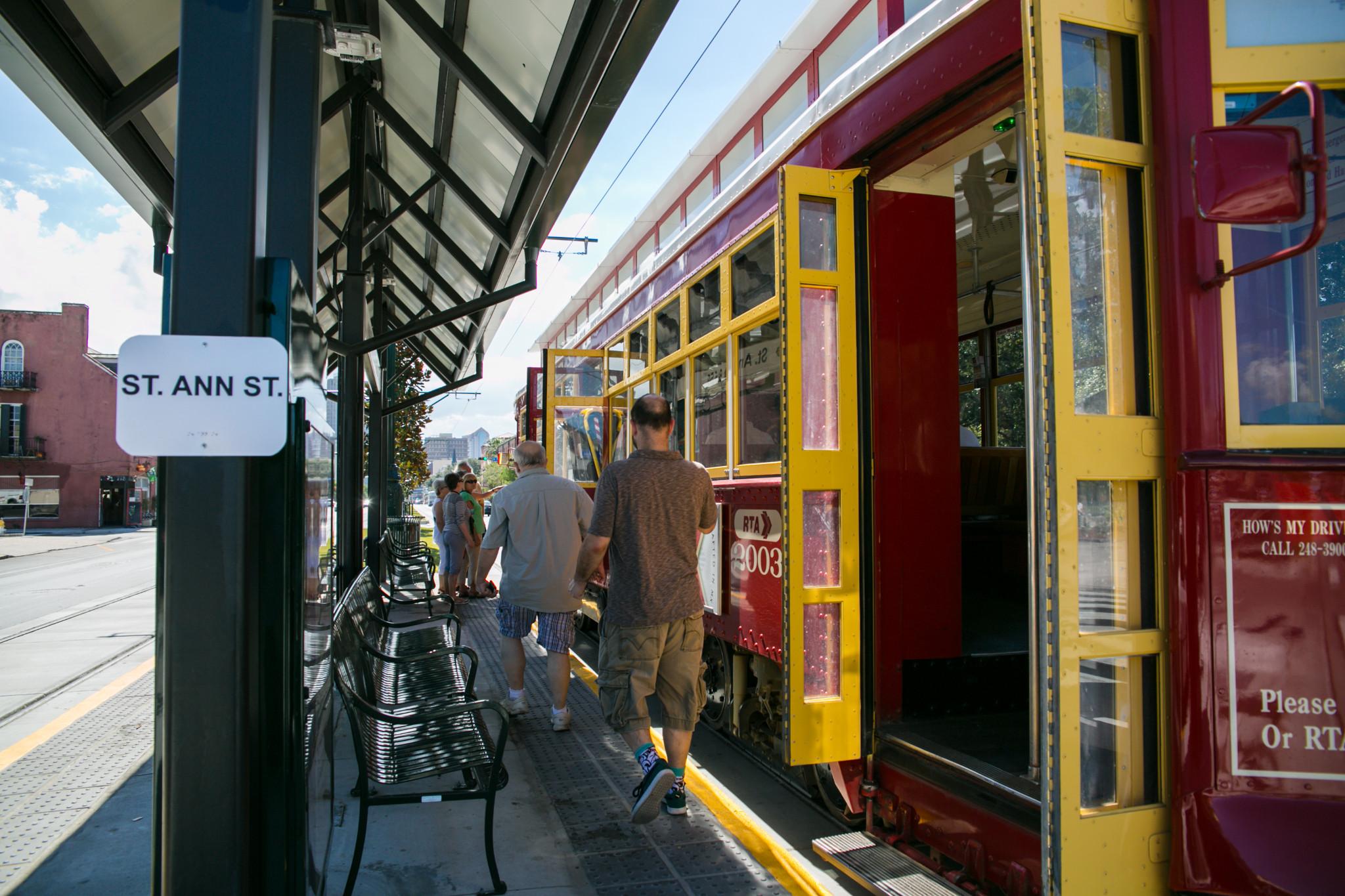 St. Ann Streetcar