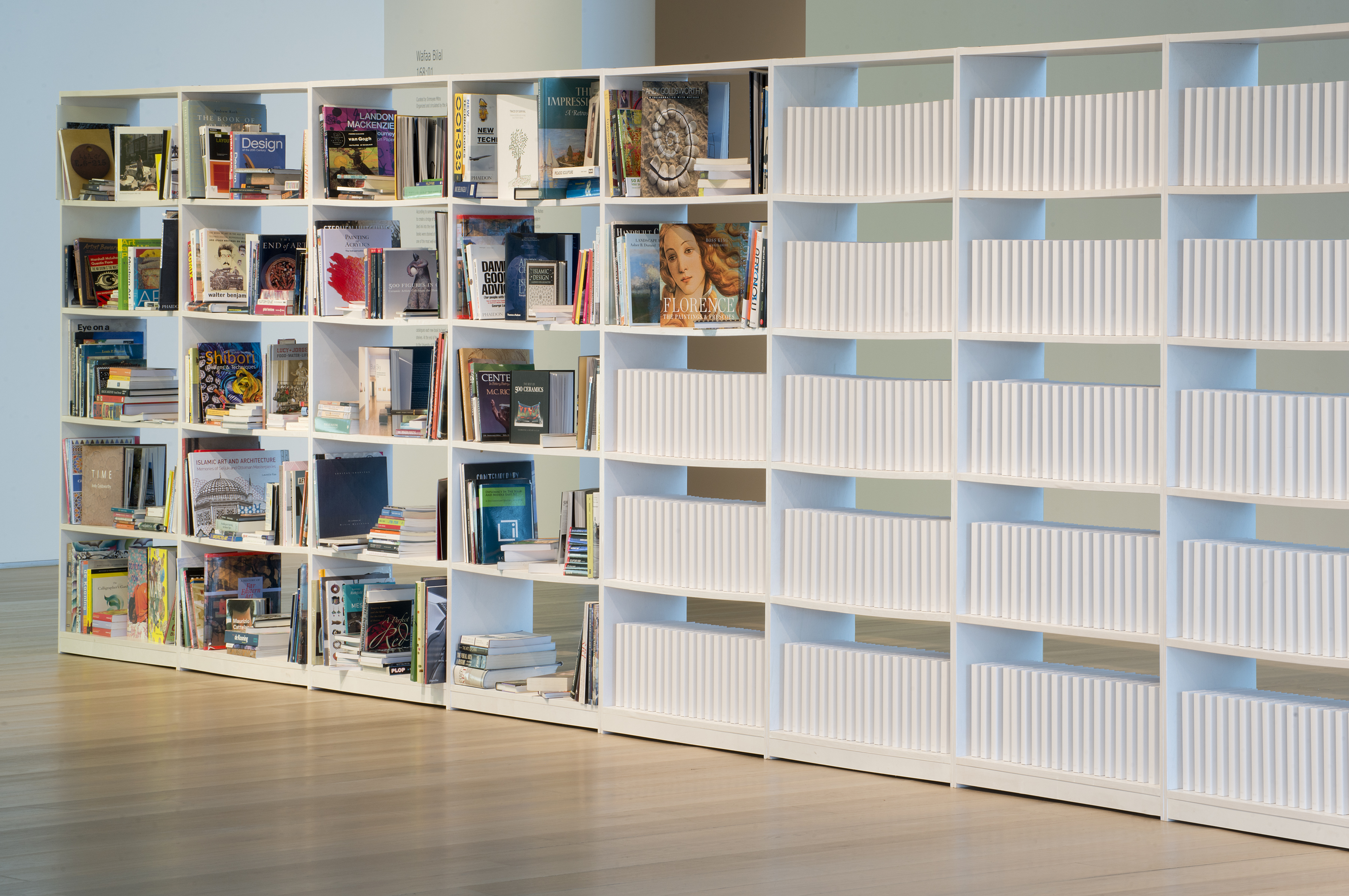 A installation from Wafaa Bilal, part of NOMA's Bodies of Knowledge exhibit (photo courtesy of New Orleans Museum of Art)