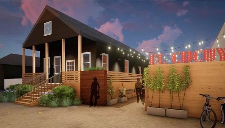 A rendering of El Cucuy, a new Mexican restaurant (photo courtesy of El Cucuy)