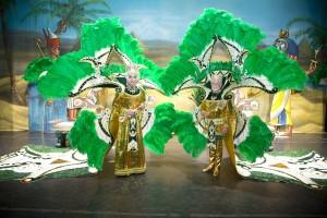 Krewe of Amon-Ra 50th Royalty Opal Masters and Darwin Reed (photo courtesy of Amon-Ra)