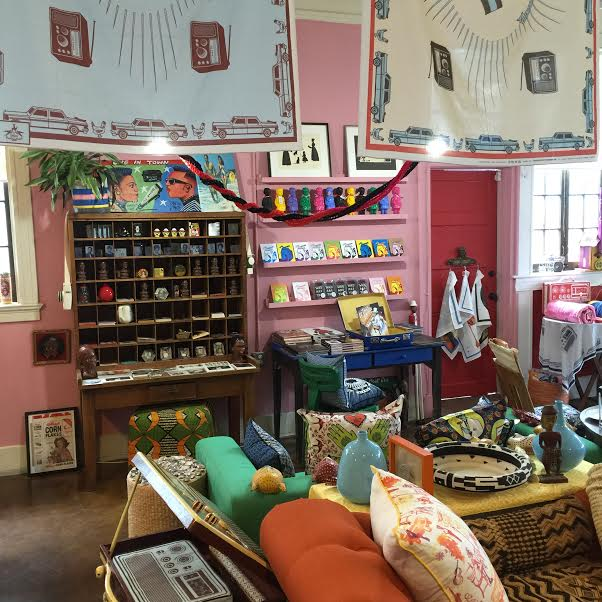 Material Life interior shot, lesbian owned business
