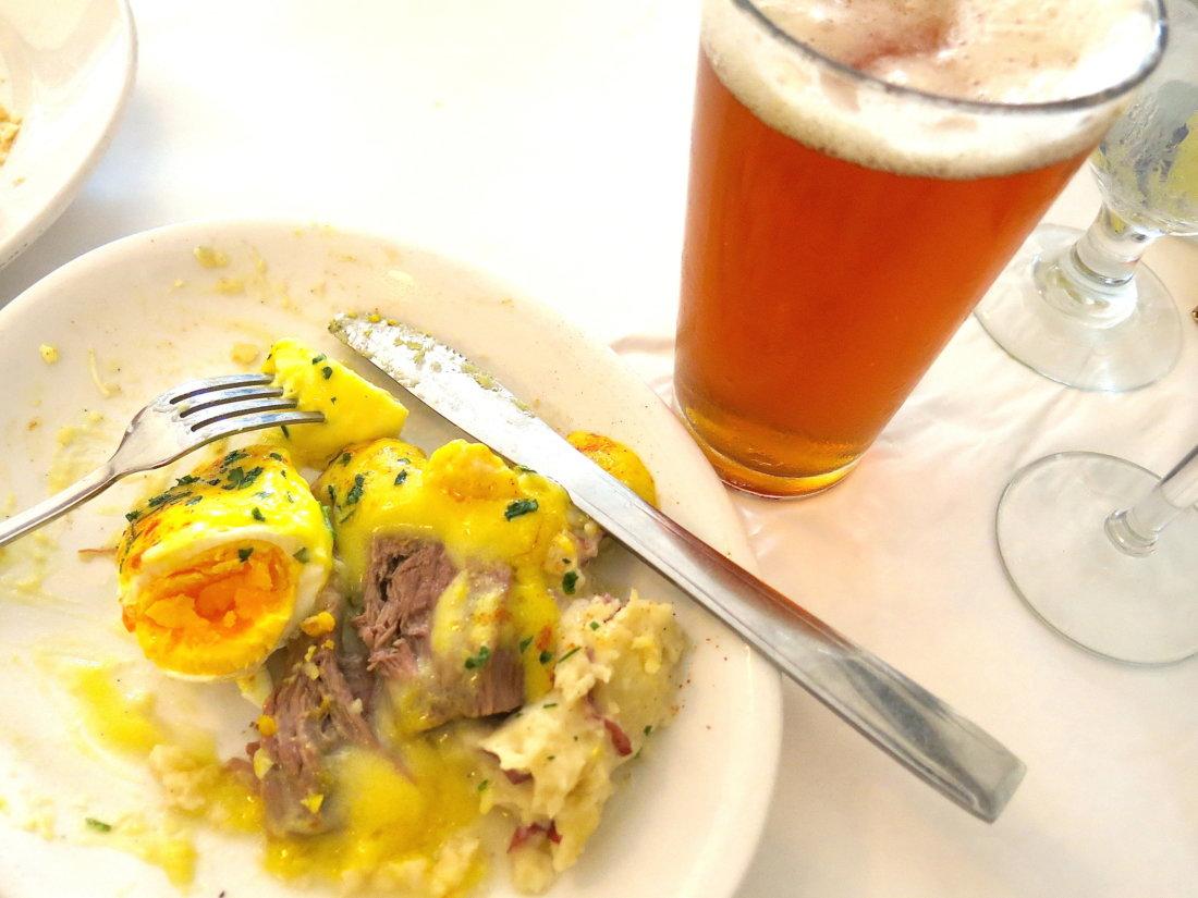 "A ""butcher's breakfast."" (Photo credit: Christopher Garland.)"