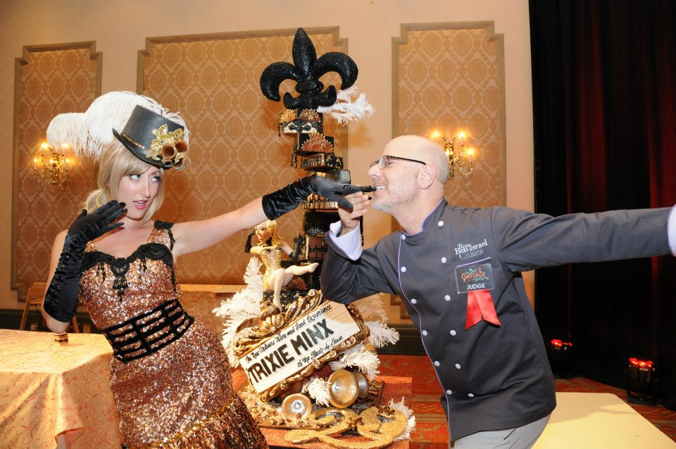 Burlesque, Bubbly and more than a little dessert at the Big Gateaux Show at NOWFE. (Photo courtesy of NOWFE)
