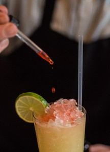 Tiki cocktail at Cane & Table