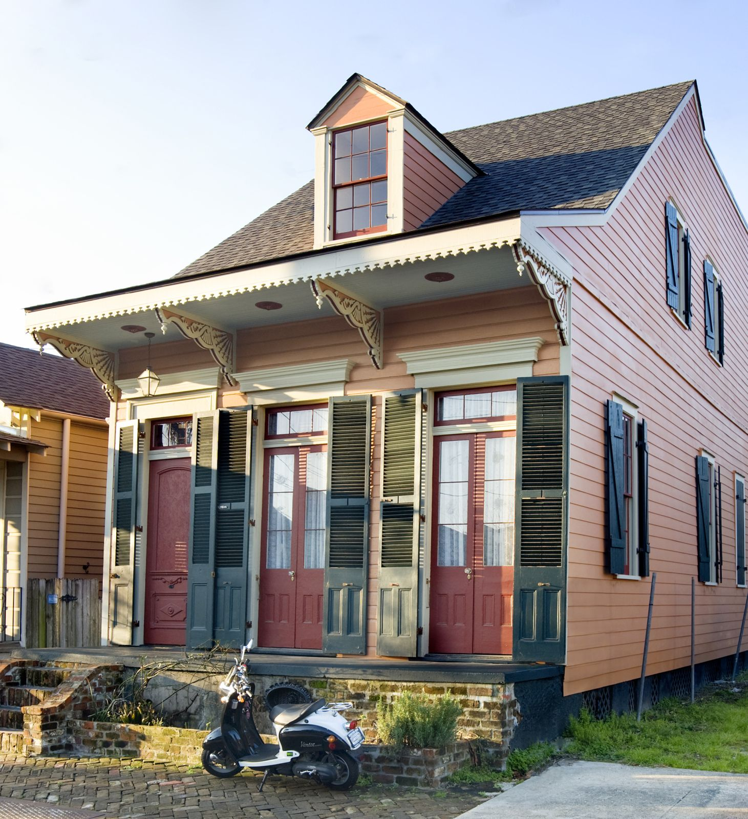 New Orleans Houses The Creole Cottage