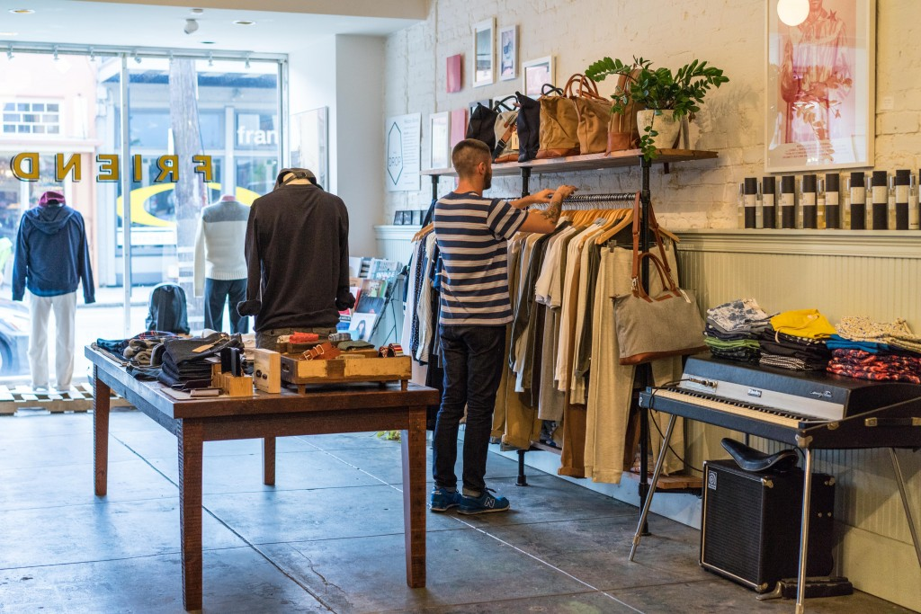 Find the latest in contemporary mens fashion from boutique labels at Friend on Magazine Street in the Lower Garden District