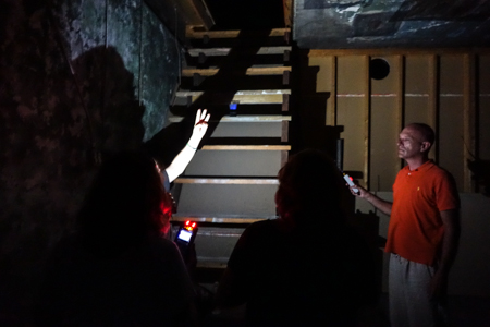 NOLA Ghost Hunting Tours offers a mostly-in-the-dark 2.5 hour tour complete with ghost hunting equipment included to try out.