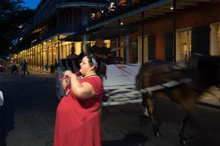 Some good stories told by a spirited guide, a beautiful night, and some comfortable walking shoes are all you need for a ghostly night out in the French Quarter!