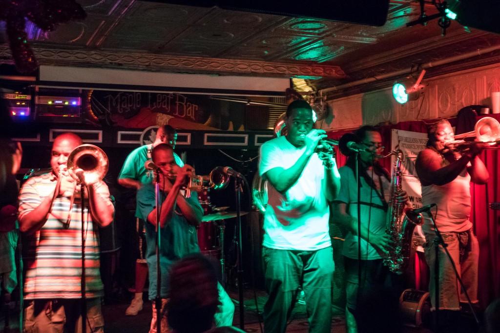 maple leaf bar new orleans rebirth brass band nightlife