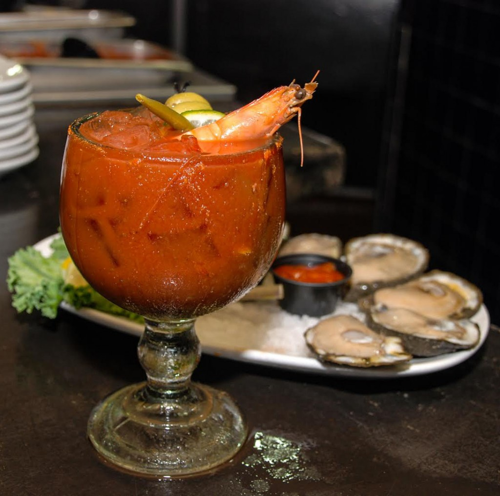 Deanie's Seafood Bloody Mary