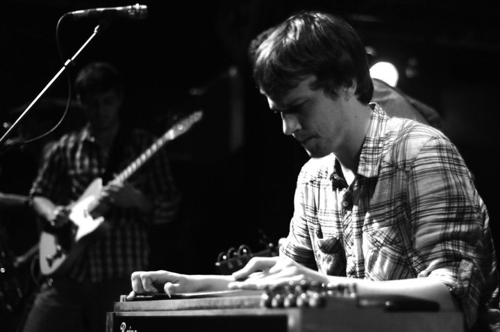 Ed Williams playing the pedal steel at Tipitina's (Photo courtesy of therevivalists.com)