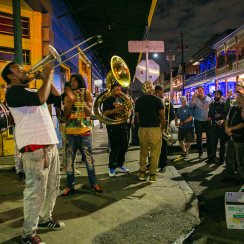 Frenchmen Street music