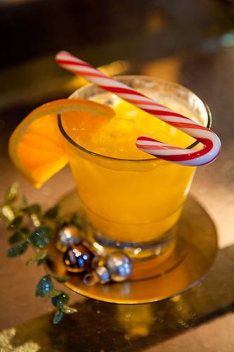 carousel bar holiday cocktail