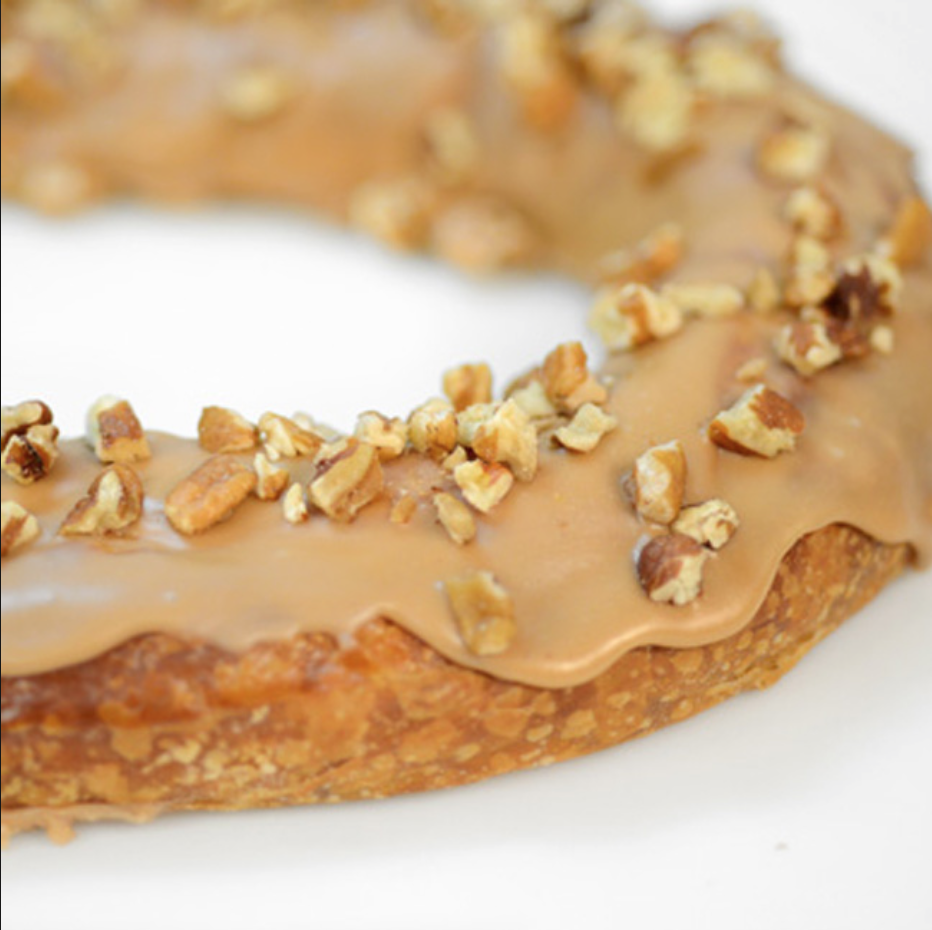 Haydel's Bakery in Jefferson Parish has the Cajun Kringle, a praline king cake for the Christmas season that is so popular it's sold year round. (Photo courtesy of Haydel's Bakery)