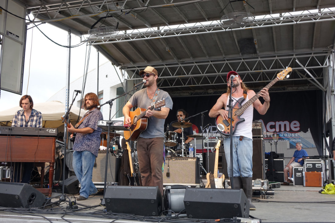 Soulful southern rockers Honey Island Swamp Band close out first day of the 2016 Oyster Fest on Saturday, June 4.