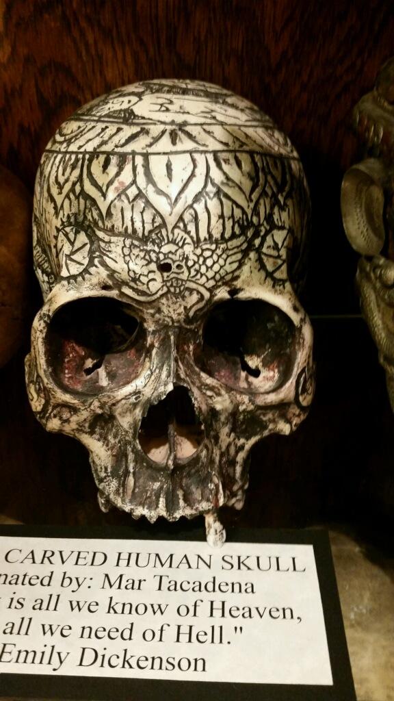 skull museum of death