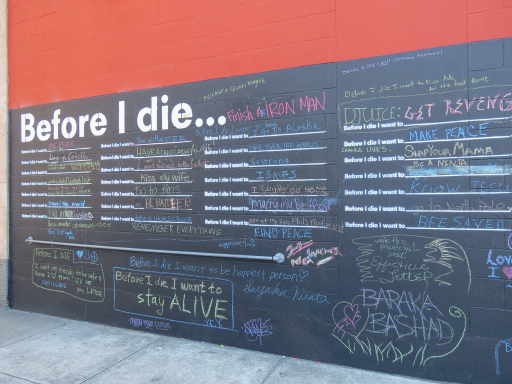 """Before I Die,"" photo by Emily Ramirez Hernandez"