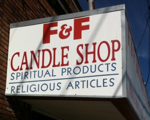 F and F Candle Shop New Orleans