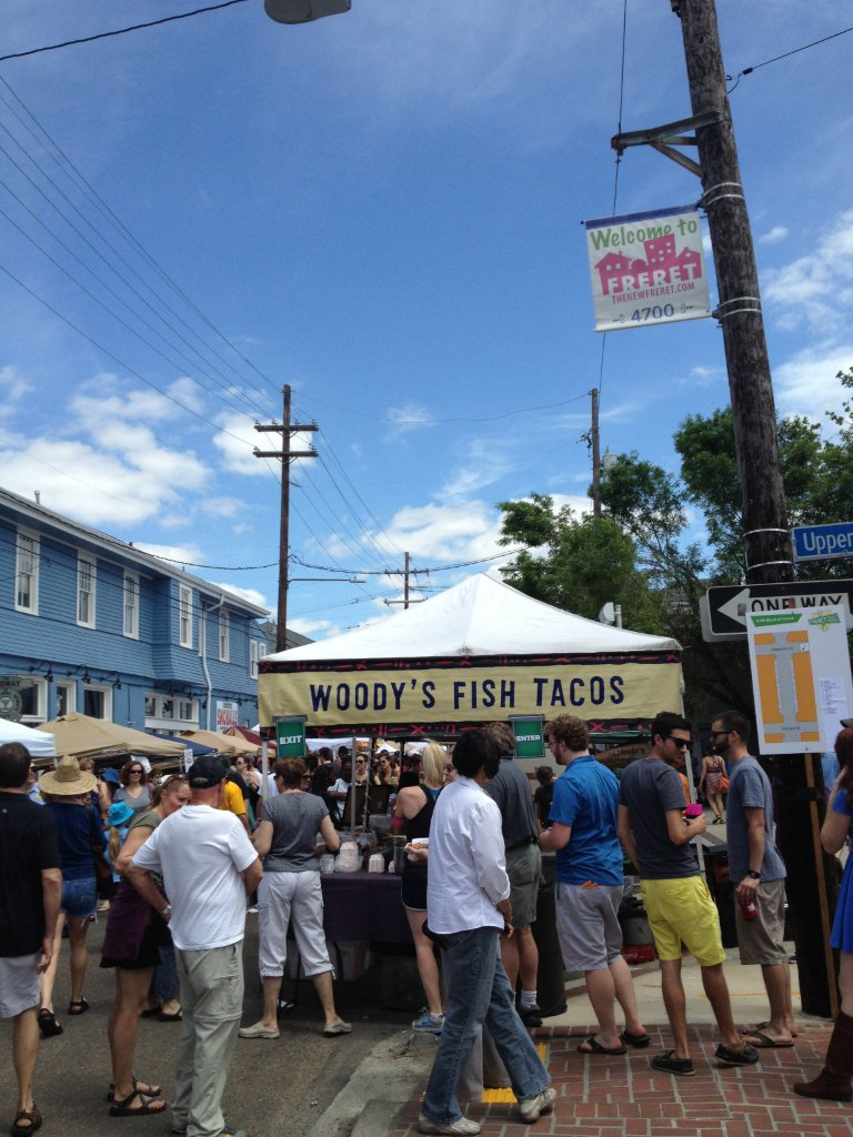 Did I mention all the delicious food that's sold by local vendors (as well as all the restaurants along Freret?!) Don't miss some serious festival eating on Freret!