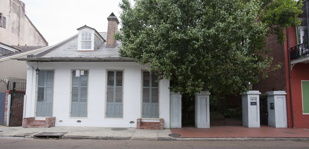 Former French Quarter home of Clay Shawl