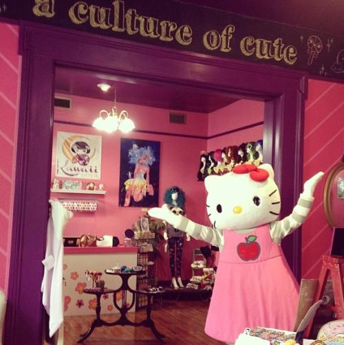 Kawaii NOLA carries a variety of popular brands, including Sanrio & Hello Kitty. Photo courtesy Kawaii NOLA.