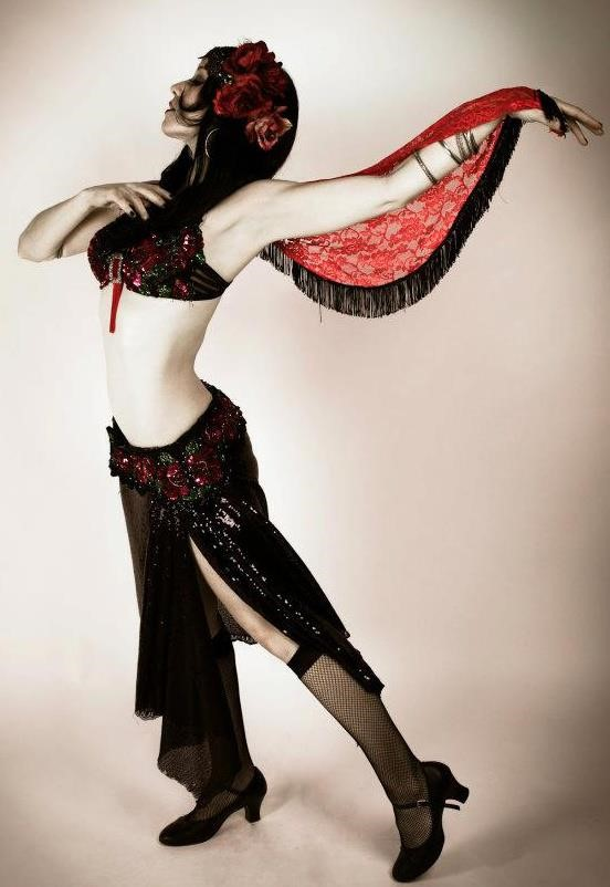 Kerry Lynn Belly Dancer (photo courtesy of Kerry Lynn Sieff)