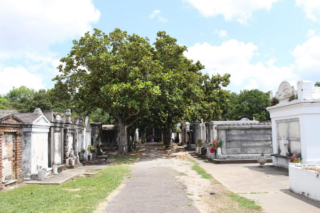 Lafayette Cemetery No. 1 photo courtesy of Cultural Landscapes Foundation (photo credit: Jane Saterlee)