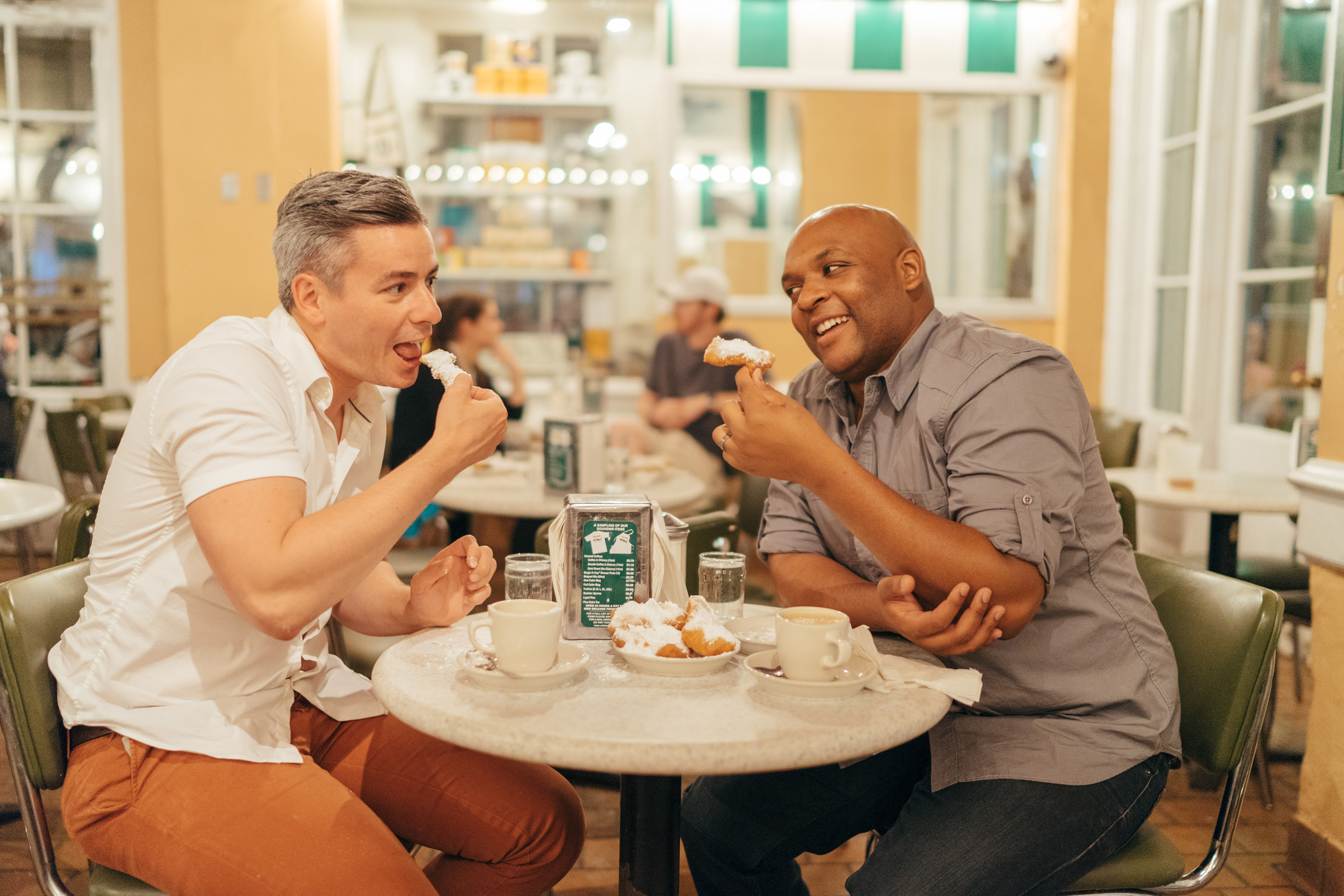 gay night out lgbt travel cafe du monde