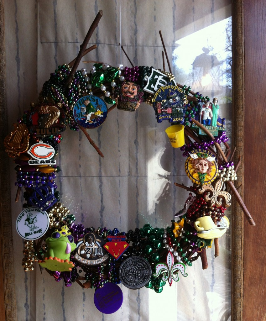 From trash to treasure upcycling new orleans mardi gras beads display your keepers amipublicfo Images