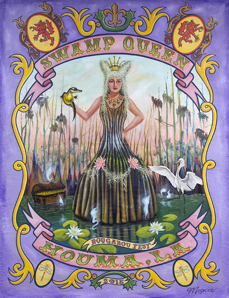 "Molly McGuire's ""Swamp Queen."""