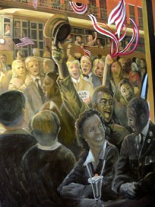 A mural at the Soda Shop