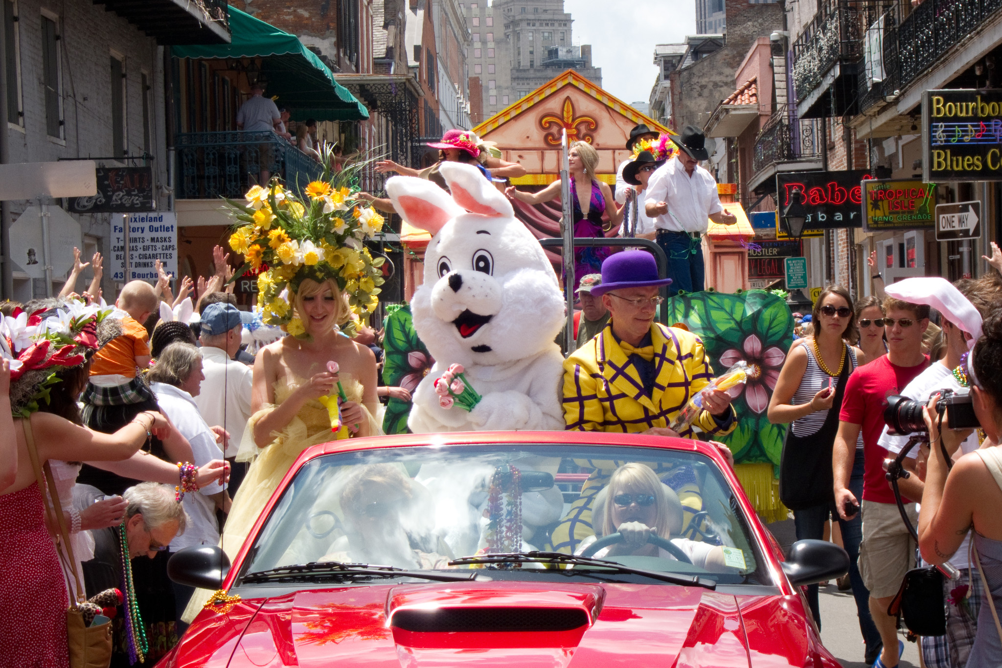 Chris Owen's Easter Parade is a hopping good time for all.