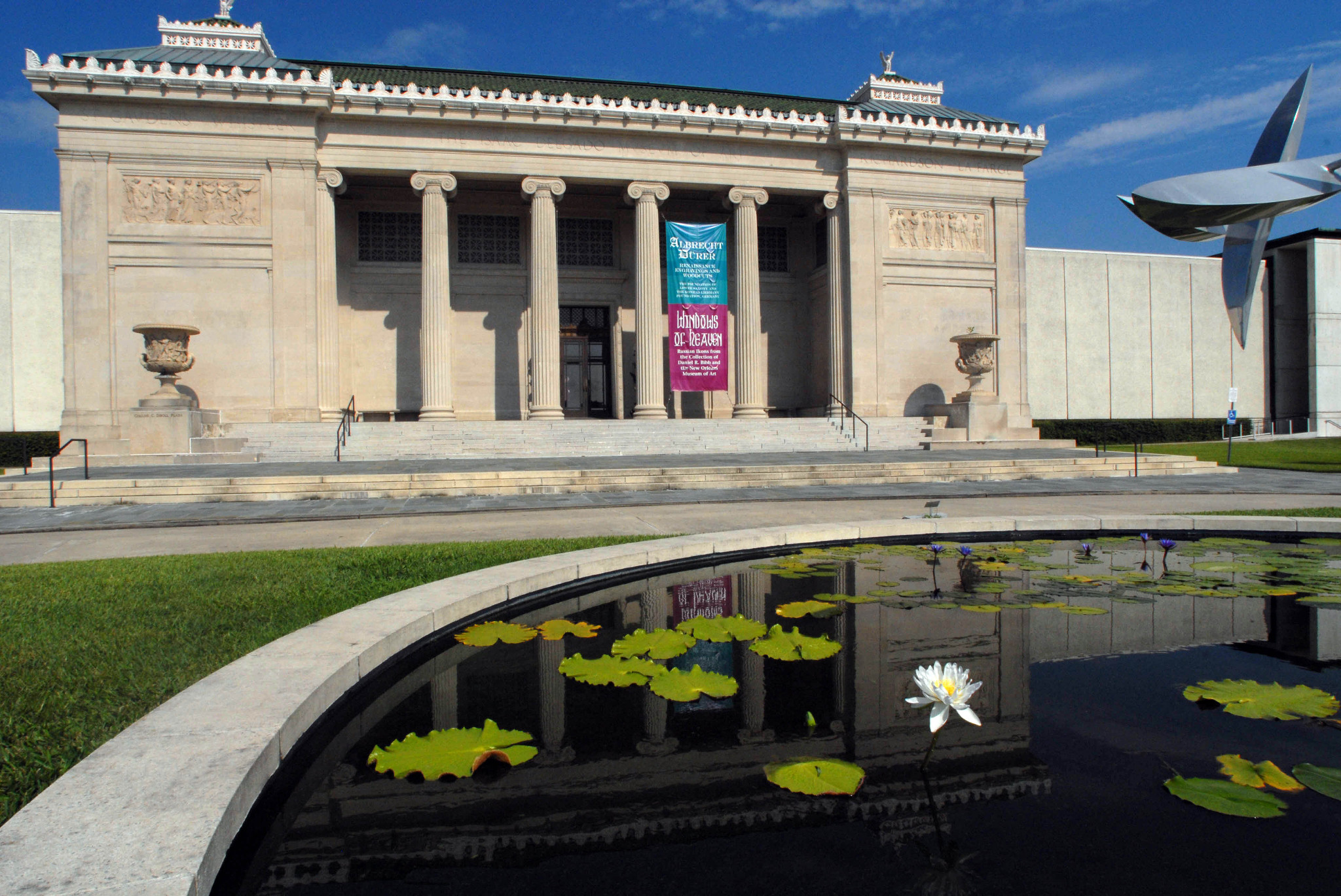 The New Orleans Museum of Art. (Photo: Cheryl Gerber)