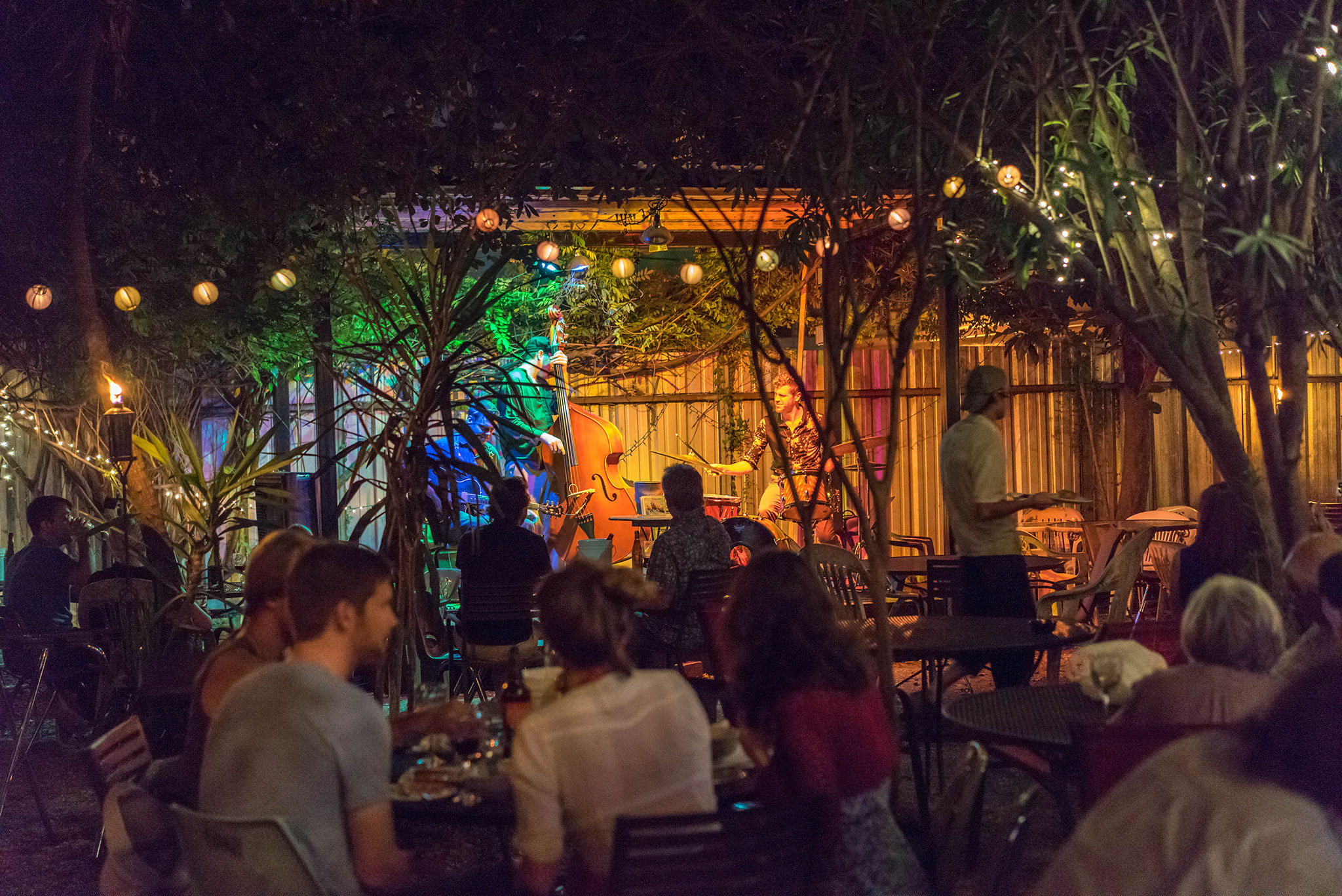 Bacchanal is a magical spot for a glass of wine. (Photo: Paul Broussard)