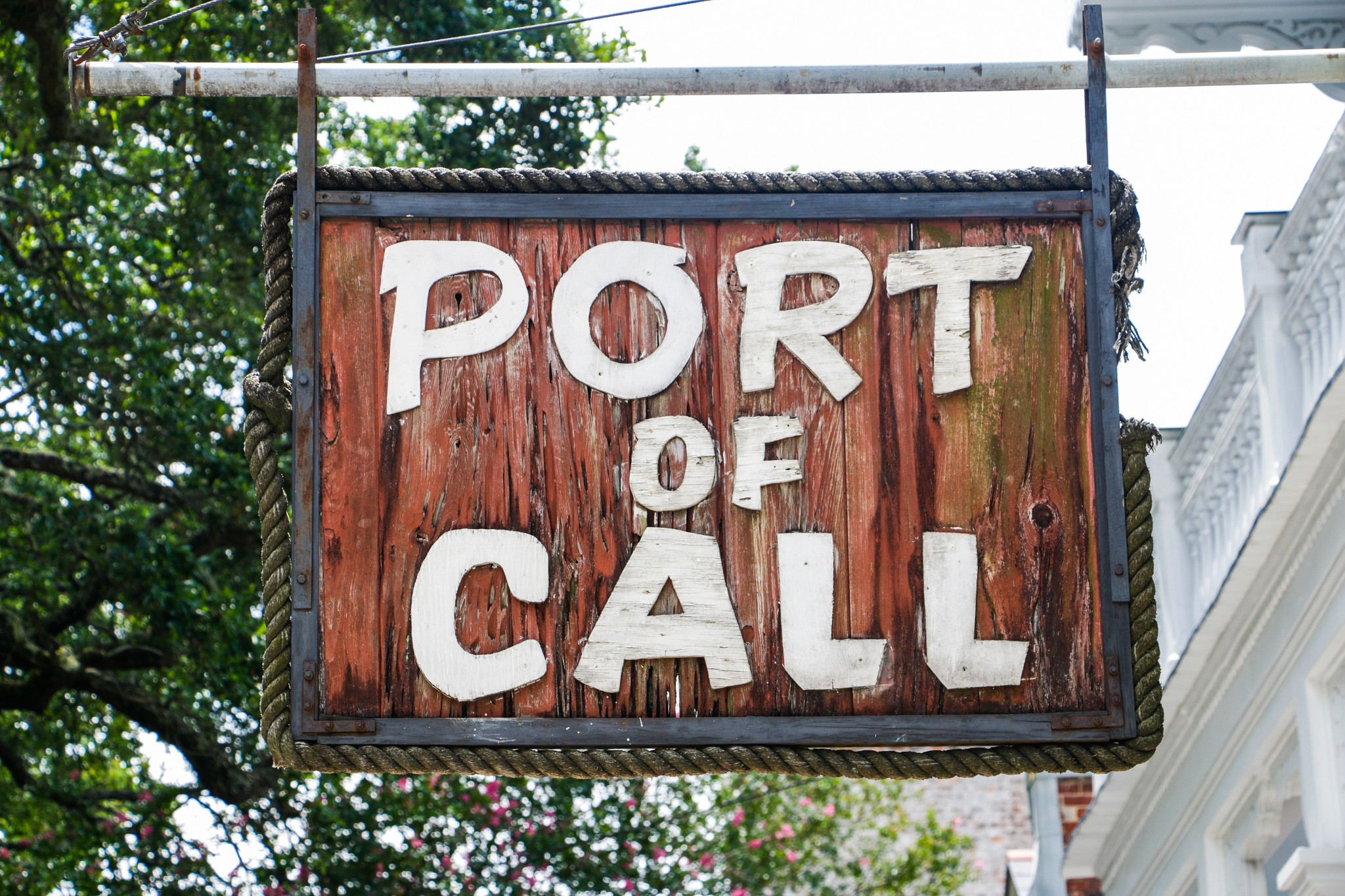 If you've never been to New Orleans, you have to go to Port of Call.