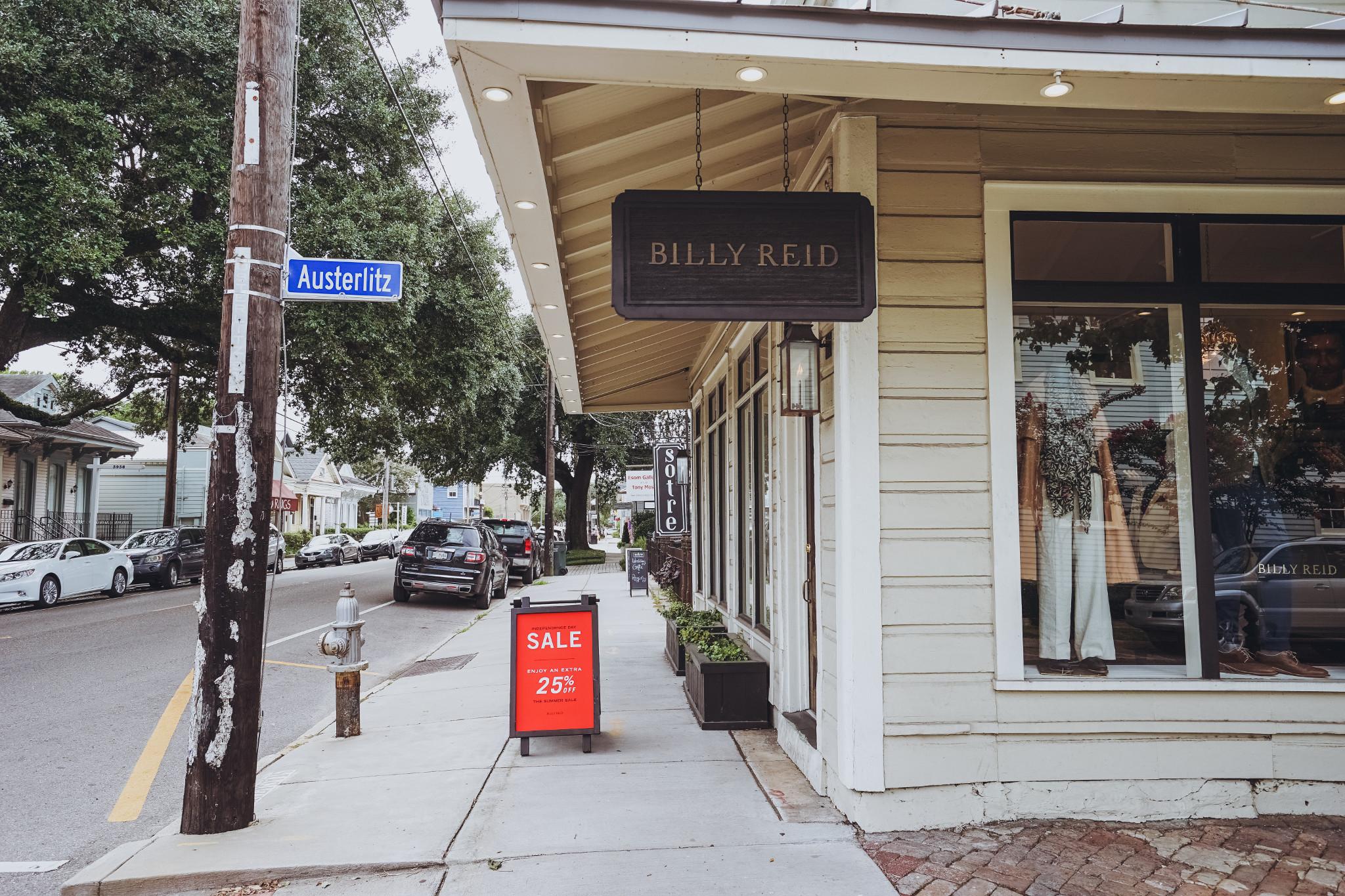 New Orleans Fashion Week Billy Reid
