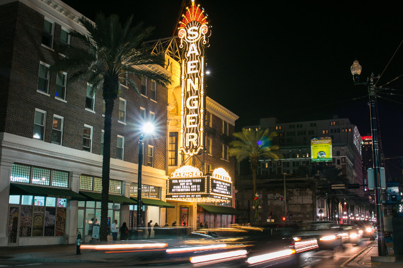 The Saenger Theater. (Photo by Rebecca Ratliff)