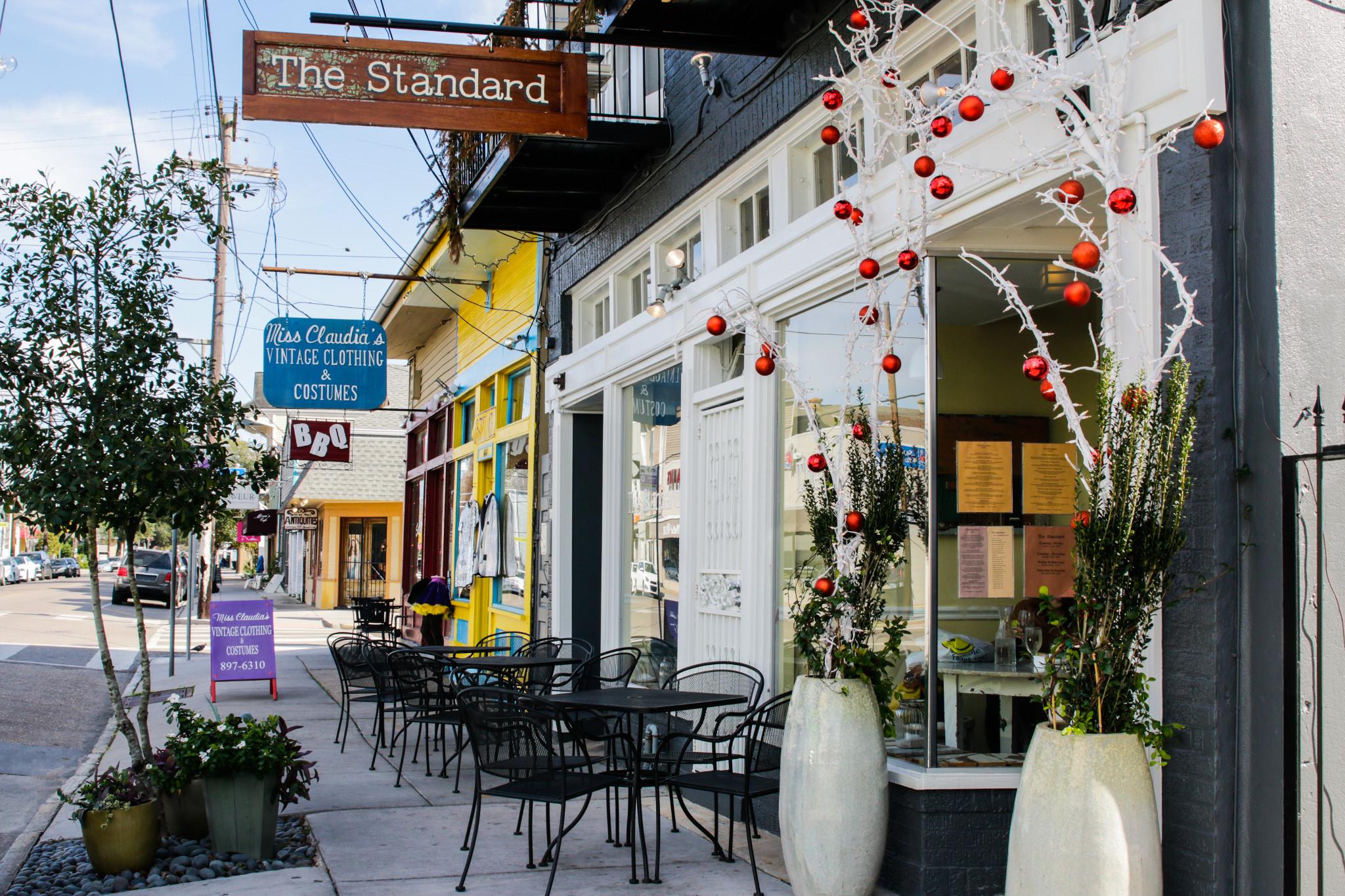 New Orleans Magazine Street Restaurants