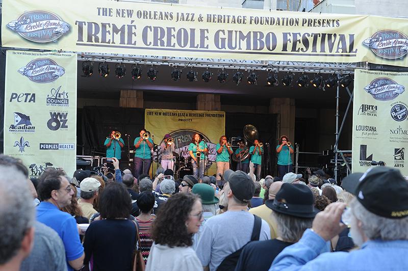Treme Creole Gumbo Festival 2013