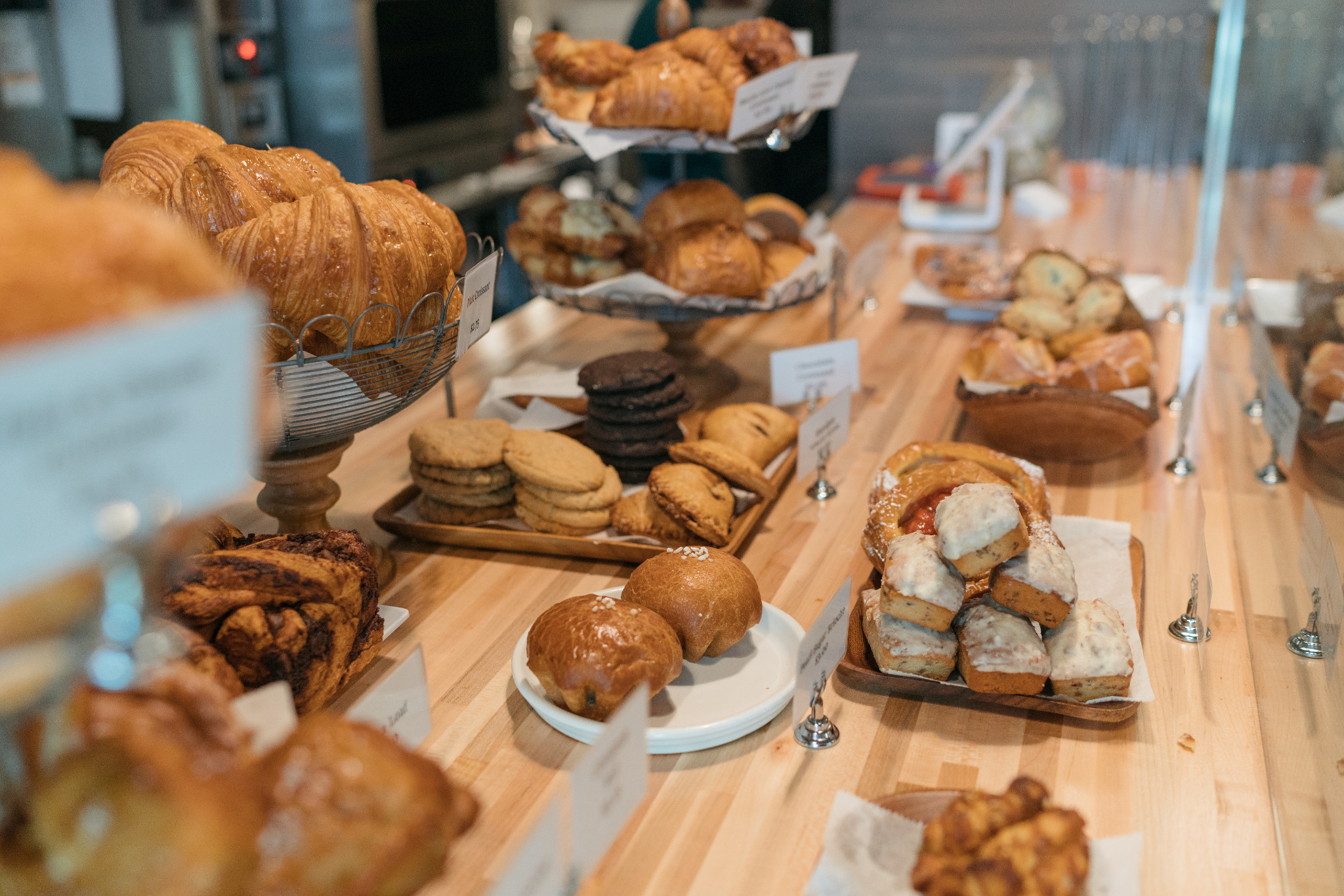 A delicious selection of pastries at Gracious Bakery. (Photo: Paul Broussard)